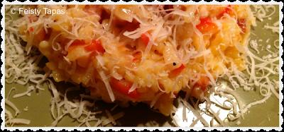 Chorizo and red pepper risotto (recipe)