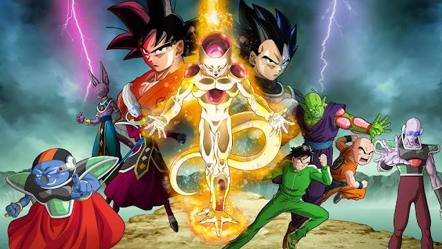 Materiał promujący film Dragon Ball Z: Fukkatsu no F czyli Resurrection F