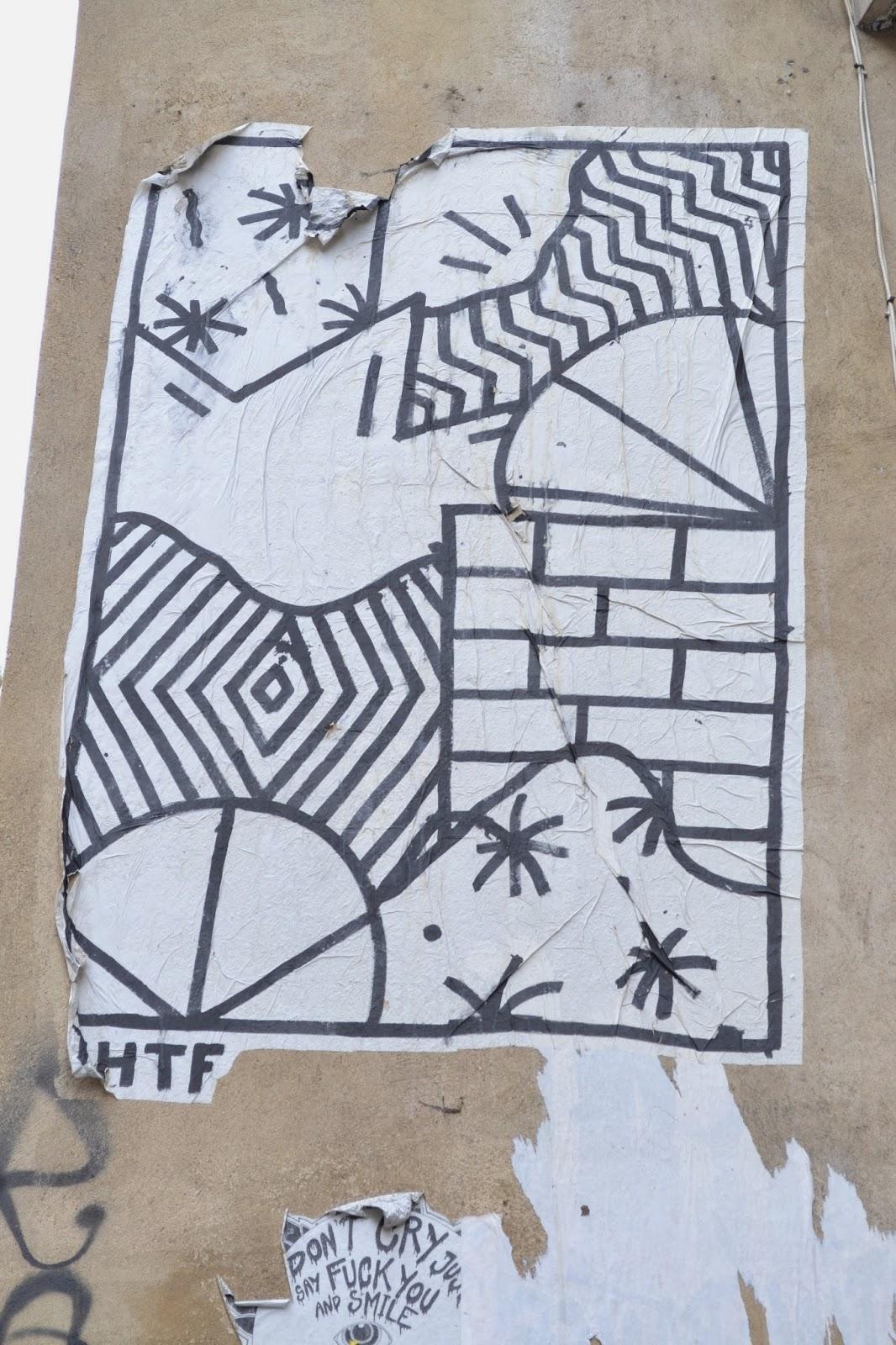 Street art Lyon Croix Rousse Terreaux THTF Birdy Kids Kesa Esem Agrume graffiti tag