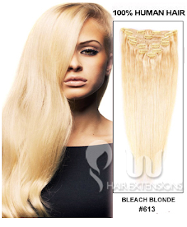 http://www.uuhairextensions.com/20-inch-bleach-blonde613-clip-in-hair-extensions-220g12pcs-p-2815.html