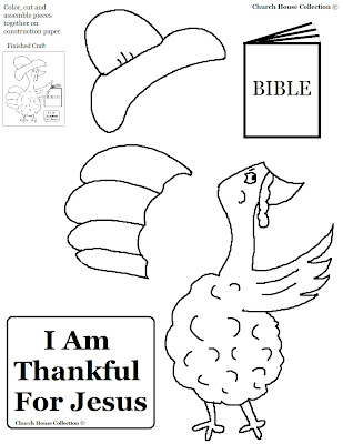 I AM Thankful for Thanksgiving Activity Sheet