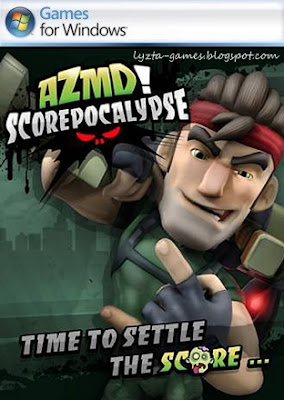 AZMD (All Zombies Must Die!): Scorepocalypse PC Cover