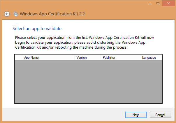 Windows App Certification Kit 2.2 Fails on Windows 8.1? Here is the ...