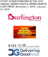 HTHVF IS PARTICIPATING IN THE 12 ANNUAL WARM COATS & WARM HEARTS COAT DRIVE: