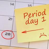 Penyelesaian Wanita tertekan aliran haid berlebihan setiap bulan