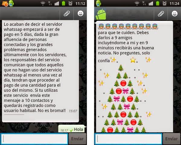 mensajes de difusion whatsapp