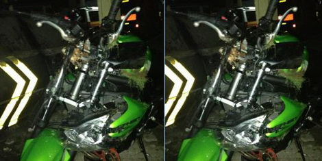 kecelakaan motor ustdz jefry
