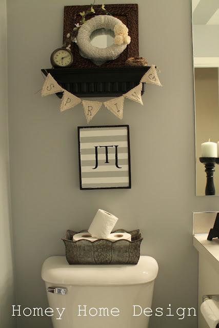 Homey home design mini spring wreath for Bathroom decor riverton