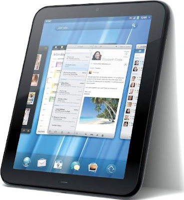 HP TouchPad 4G Tablet