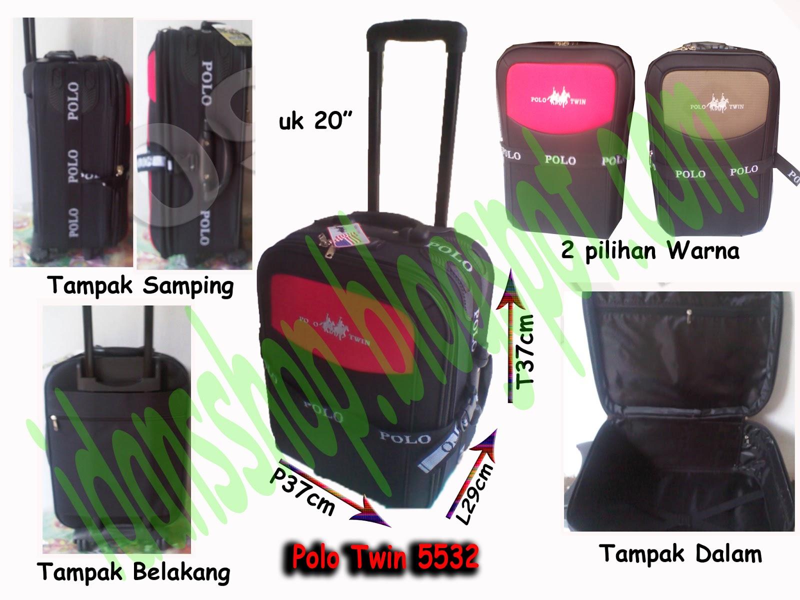 Distributor Tas Rangsel Tas Koper Polo Twin 5532