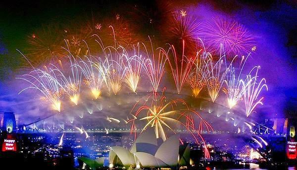 Tahun Baru 2015 - Antusias Masyarakat Dunia Merayakannya