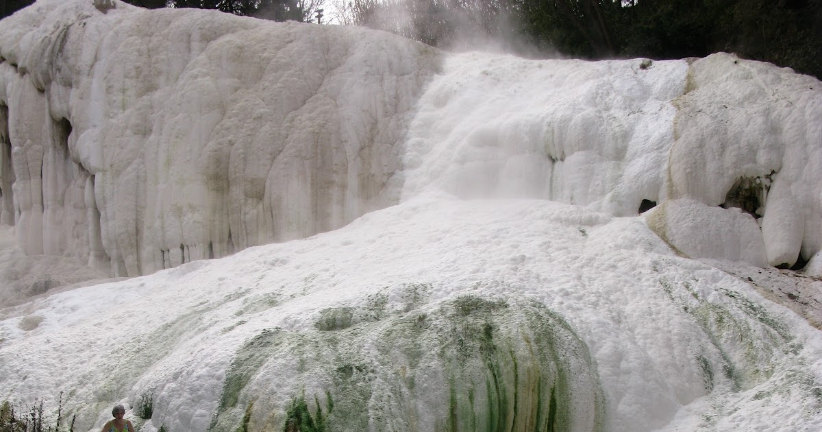 tuscany tuscan hot springs fosso bianco in bagni san filippo