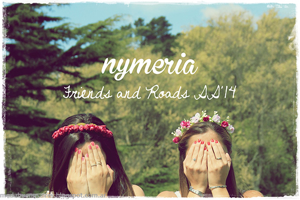 Vinchas con flores 2014. Accesorios 2014. Nymeria primavera verano 2014.
