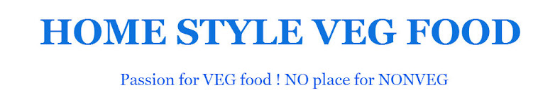 <center>Home Style Veg Food</center>