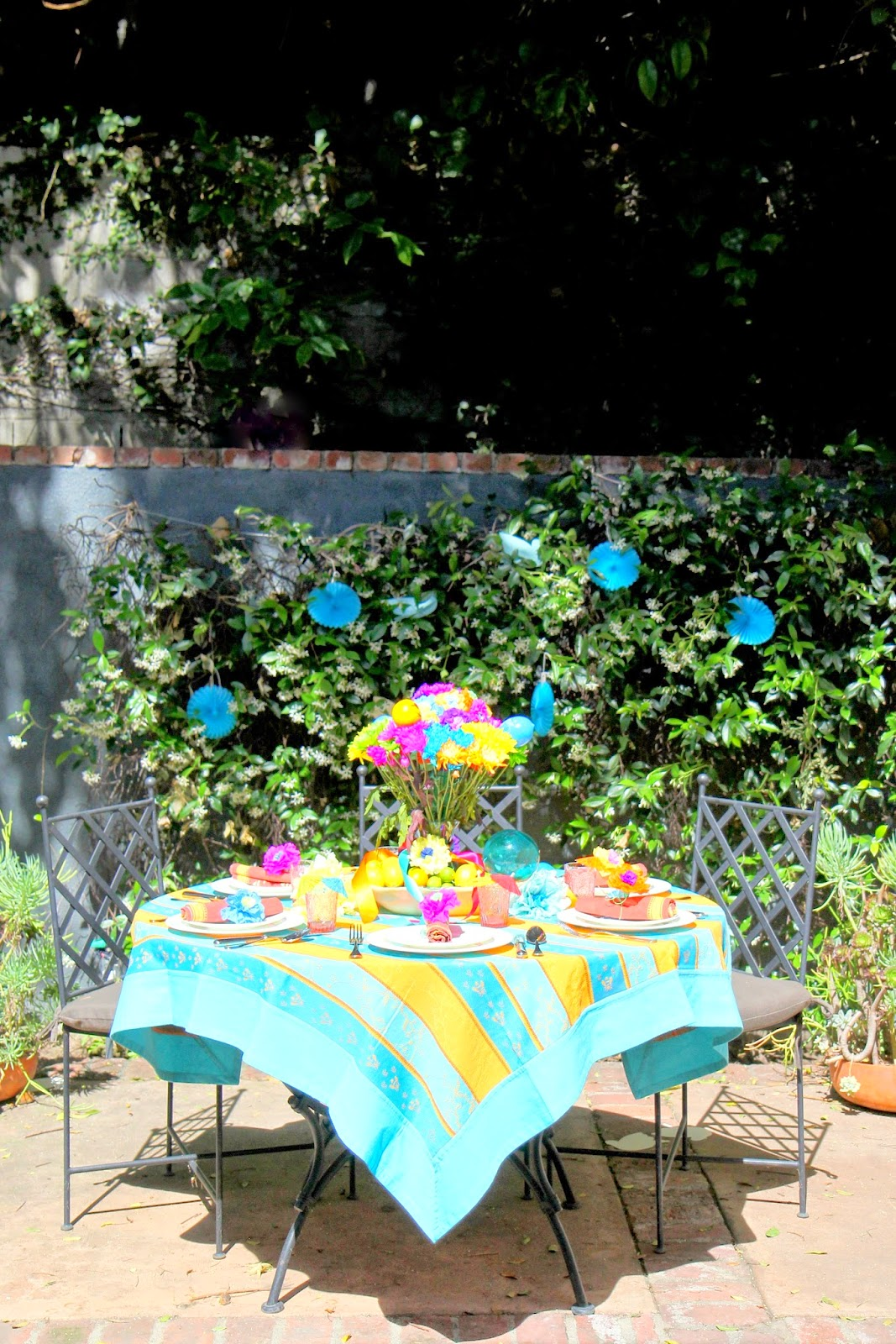 Backyard Dinner Party; Cinco de Mayo Celebration -- Nora's Nest