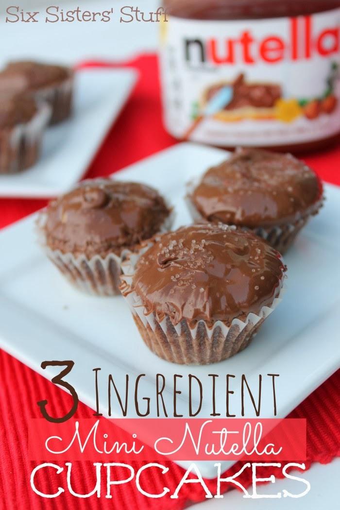 Mini Nutella Cupcakes | Best Recipes Ever