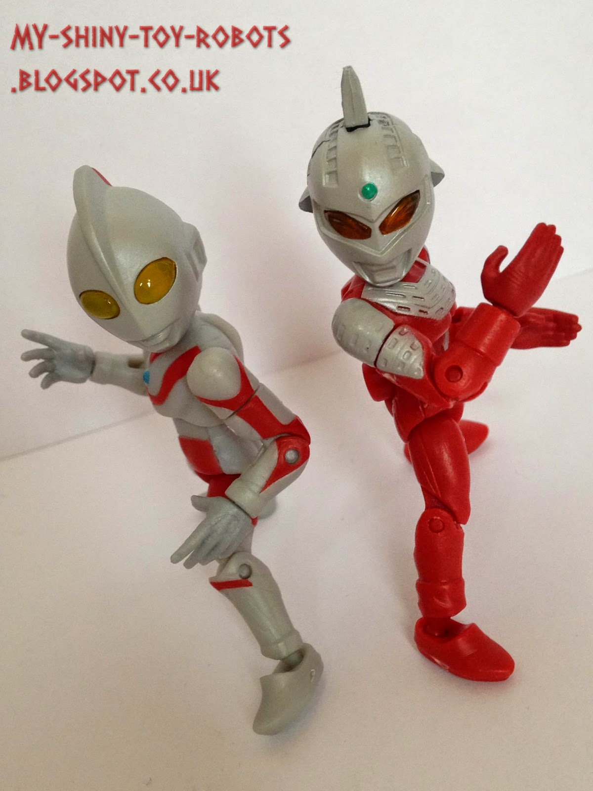 Teaming up with Ultraman