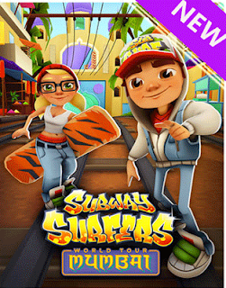 Screenshots of the Subway surfers: World tour Mumbai for Android tablet, phone.