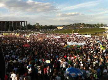 Manifestação Pacífica Contra a Pl122 em Brasilia 01/06/2012