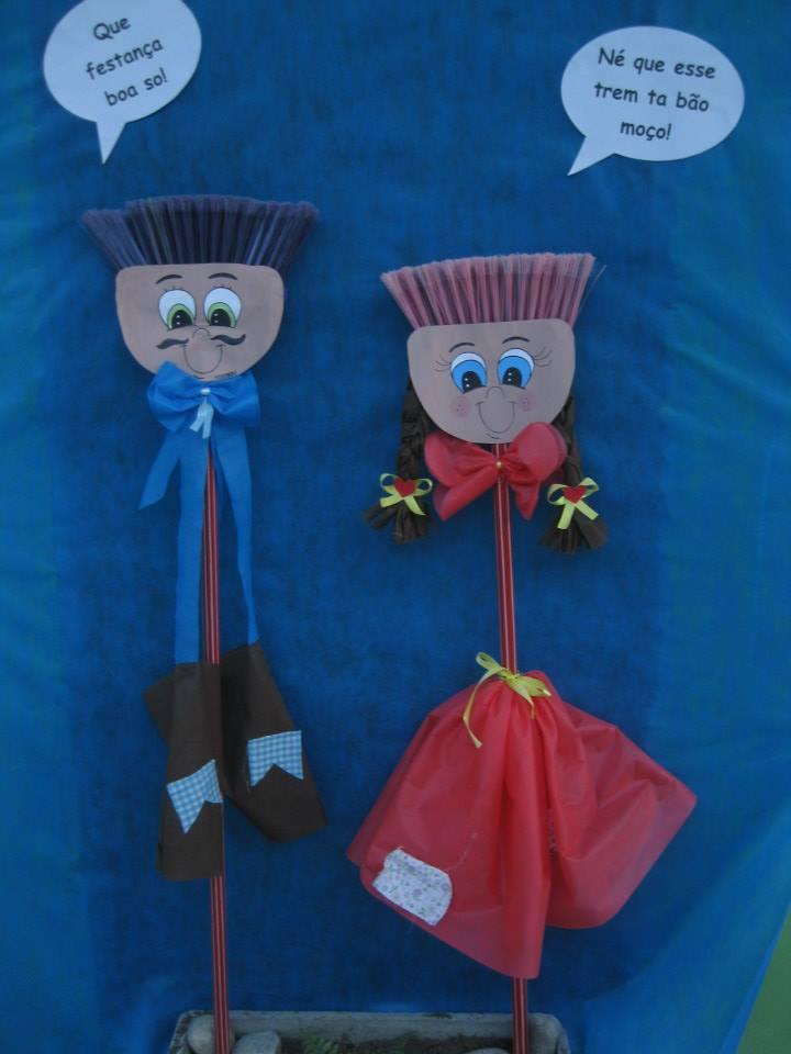 Pedagogiando Decoraç u00e3o de Festa junina! -> Decoração De Festa Junina Para Escola