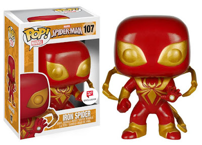 Walgreens Exclusive Spider-Man Pop! Marvel Series 2 by Funko - Iron Spider Vinyl Figure