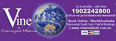 Australian Psychic Vine, Discounted Credit Card Bookings