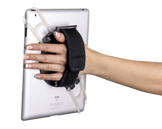 http://www.amazon.com/Aleratec-Universal-Desktop-Android-Tablets/dp/B00Z8JQW0A/ie=UTF8?m=A2UZVIGPN3KFSH&keywords=hand+strap
