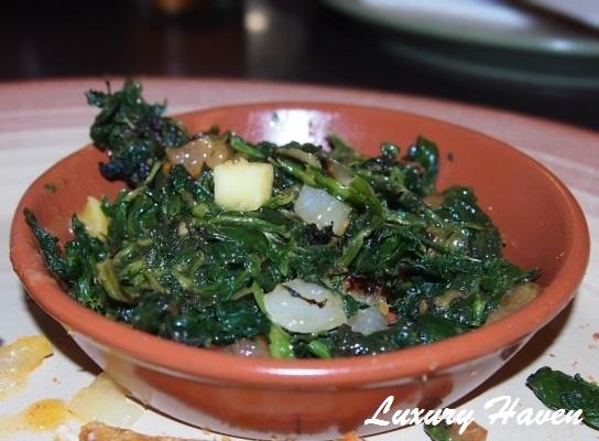 nandos angry mango meals spinach