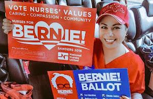 "<b><a href=""http://BernieSanders.com/"">Go Bernie Sanders</a></b>!"