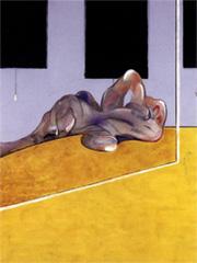 Figura yace en un espejo, una obra de Francis Bacon