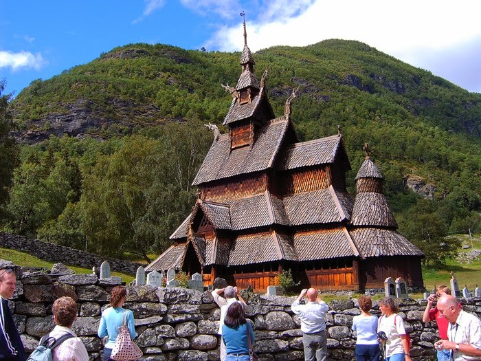 Norway's oldest wooden church is Urnes Stave Church