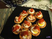 Bocadito de huevo y pimiento