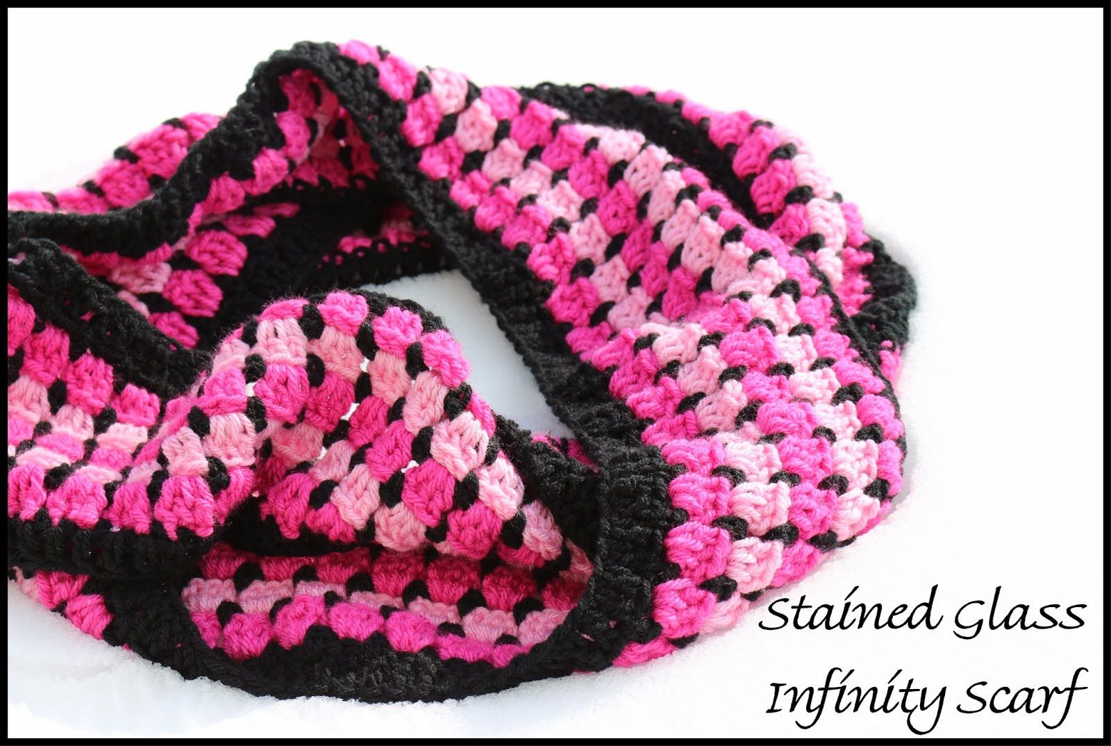 Crochet Supernova: Stained Glass Infinity Scarf ~FREE PATTERN~