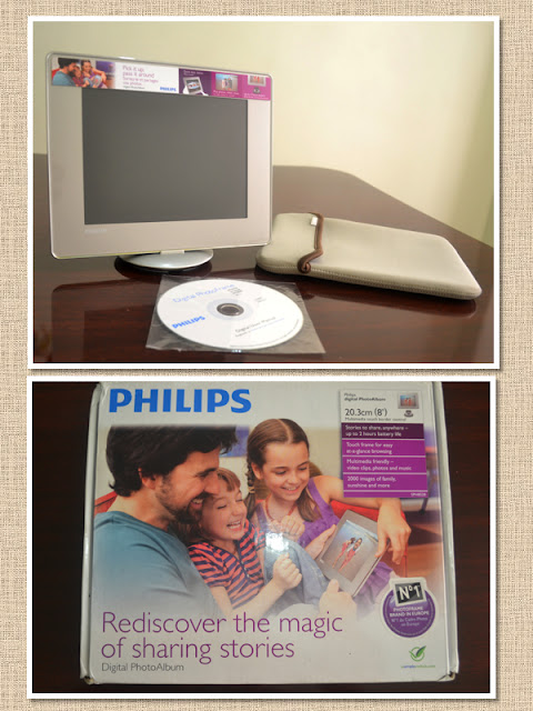 PORTA-RETRATO DIGITAL PHILLIPS - U$ 109,00