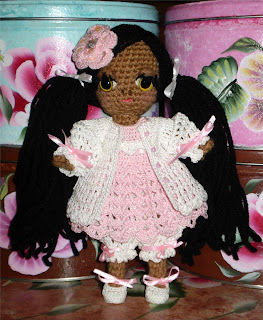 Crochet Mini Doll Pattern : An Array Of Craft Mediums: I Finally Made A Mini Free ...