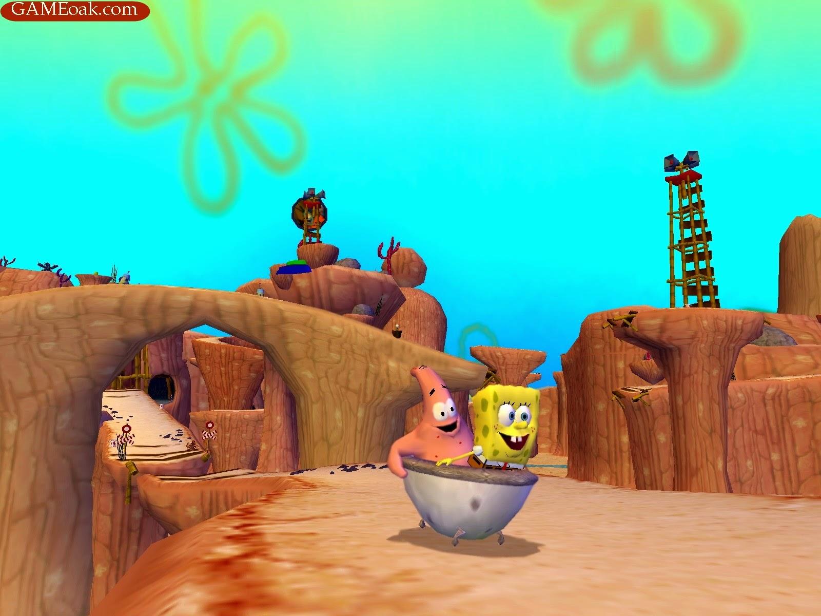 the spongebob squarepants movie game download free games