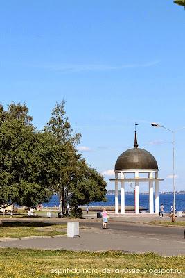 Carelie, le quai de Petrozavodsk