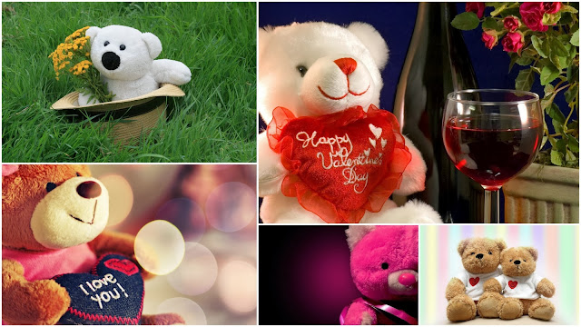 Ositos de Peluche para San Valentín