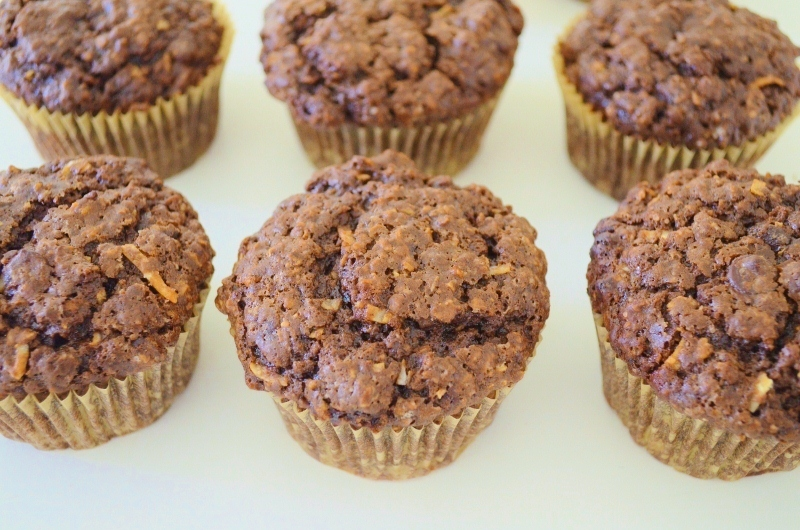 Chocolate Chocolate Chip Muffins | Woman in Real Life:The Art of the ...