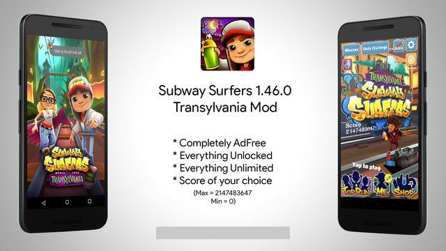 Subway Surfers Mod Version