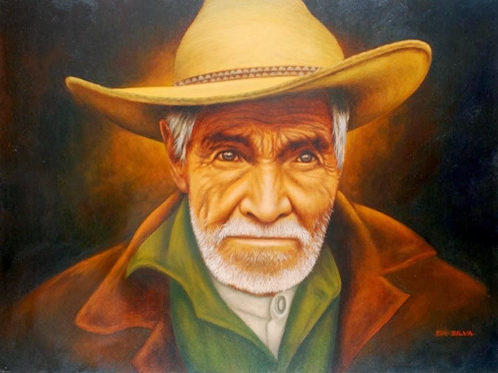 Cuadros pinturas oleos pinturas de retratos de hombres jos da silva agentina - Cuadros guapos ...