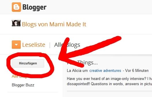 wie folge ich einem blog