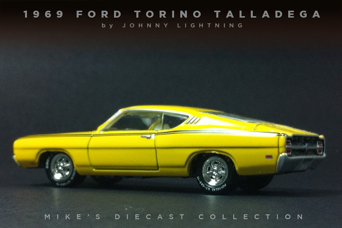 My 1969 ford torino talladega by johnny lightning from their mustangs