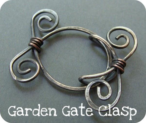 Art Bead Scene Blog: Garden Gate Clasp Tutorial
