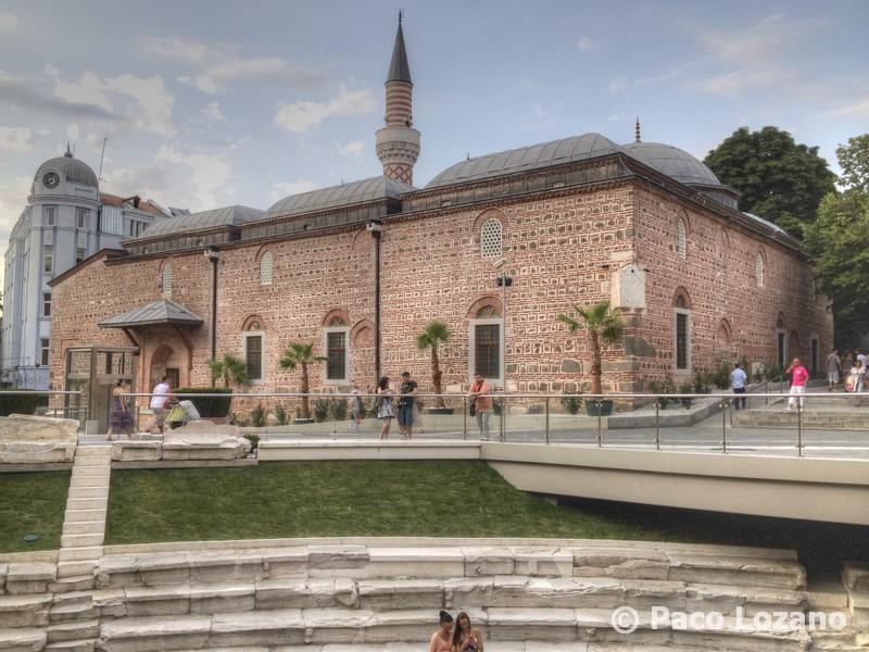 Plovdiv: el estadio romano y la mezquita Dzhumaya