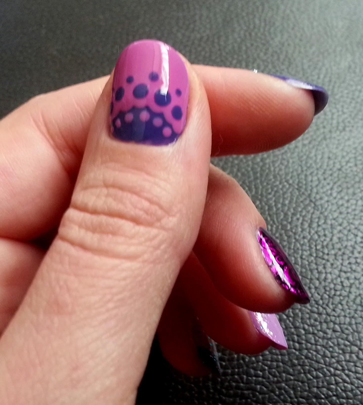 Squarebulb Nail Designs: Birthday Nails