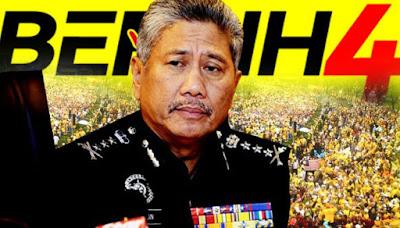 Polis nafi beri keizinan kepada Bersih
