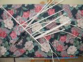 Tela revestida a tecido tridimensional- 51x104 cm