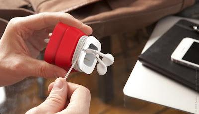 Creative and Cool Headphones and Earphones Cord Organizers (15) 11