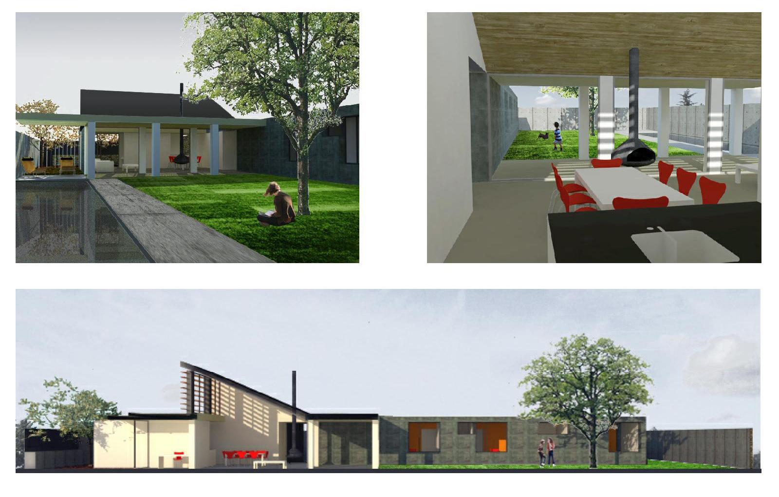 Beriot bernardini arquitectos vivienda unifamiliar at - Vivienda modular hormigon ...